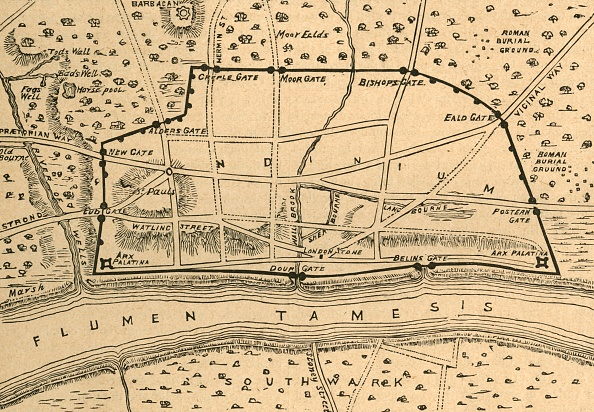 Roman「Plan Of Roman London」:写真・画像(0)[壁紙.com]