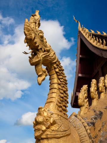 Dragon「Pha That Luang, Vientiane - the national symbol of Laos」:スマホ壁紙(6)