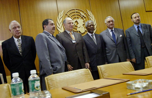 Iraqi Governing council「Heads Of State Gather For Second Day At UN」:写真・画像(6)[壁紙.com]