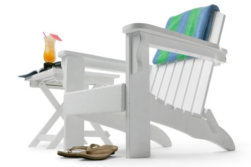 Deck Chair「Vacation Time」:スマホ壁紙(3)