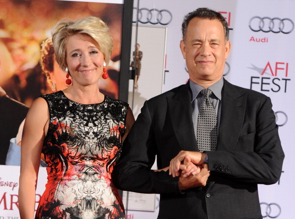 Mann Theaters「Emma Thompson Immortalized With Hand And Footprint Ceremony」:写真・画像(8)[壁紙.com]