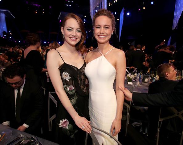 Emma Stone「The 23rd Annual Screen Actors Guild Awards - Roaming Show」:写真・画像(5)[壁紙.com]