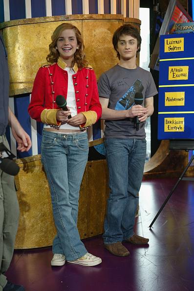 エマ・ワトソン「MTV TRL With Daniel Radcliffe And Emma Watson」:写真・画像(7)[壁紙.com]