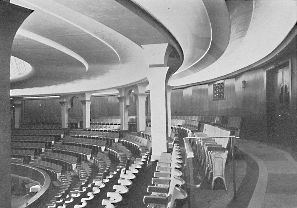 Auditorium「The Dome Interior After The Alterations - Details Of Inner Roof And Panelling」:写真・画像(19)[壁紙.com]