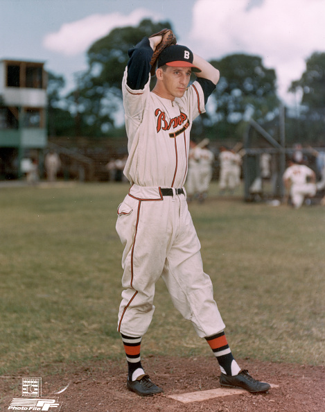 Baseball - Sport「Warren Spahn Pitching On The Mound」:写真・画像(7)[壁紙.com]