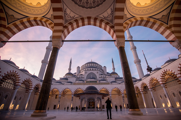 Middle East「Turkey's Largest Mosque Opens For First Official Prayer」:写真・画像(15)[壁紙.com]