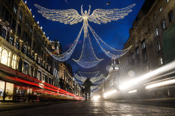 Christmas lights in central London:ニュース(壁紙.com)