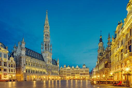 Belgium「Grand Place Square in Brussels, Belgium」:スマホ壁紙(1)