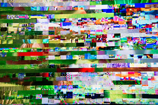 Digital television interference pattern:スマホ壁紙(壁紙.com)