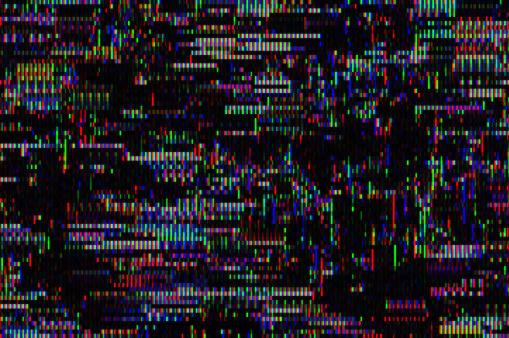 Turkey - Middle East「Digital television glitch pattern」:スマホ壁紙(14)