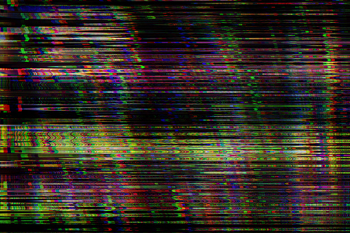Noise「Digital television glitch pattern」:スマホ壁紙(5)