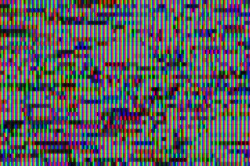 Problems「Digital television glitch pattern」:スマホ壁紙(8)