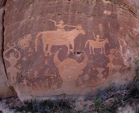 Choosing「Petroglyph」:スマホ壁紙(18)