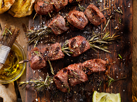 Grilled「BBQ Beef Rosemary Skewers」:スマホ壁紙(19)