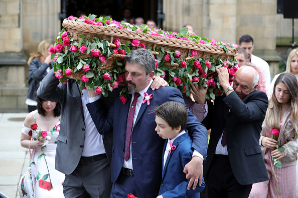 Photography「Funeral Takes Place Of Saffie Roussos The Youngest Victim Of The Manchester Terror Attack」:写真・画像(17)[壁紙.com]