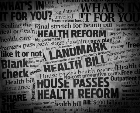 Legislation「healthcare bill Headline Collage」:スマホ壁紙(18)