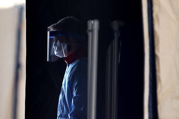 Coronavirus Testing Site Set Up At FedEx Field In Landover, Maryland:ニュース(壁紙.com)