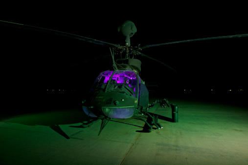 Propeller「An OH-58D Kiowa helicopter at COB Speicher, Tikrit, Iraq, during Operation Iraqi Freedom.」:スマホ壁紙(13)