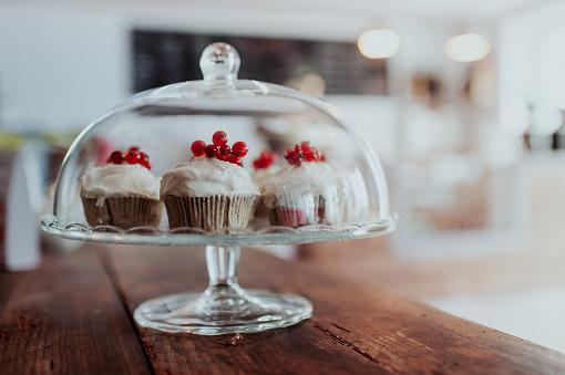 Bell「Muffins with fresh cranberries」:スマホ壁紙(15)
