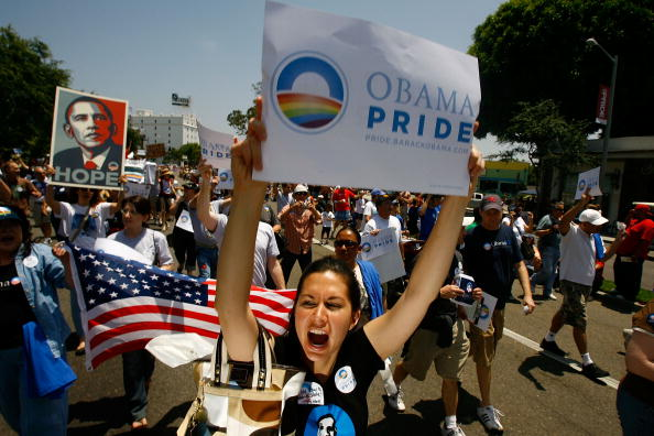 Support「West Hollywood Hosts Gay Pride Parade」:写真・画像(8)[壁紙.com]