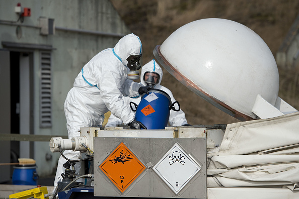 Chemical「German Company To Destroy Syrian Chemical Weapons」:写真・画像(1)[壁紙.com]