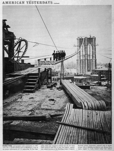 Construction Industry「Brooklyn Bridge」:写真・画像(11)[壁紙.com]