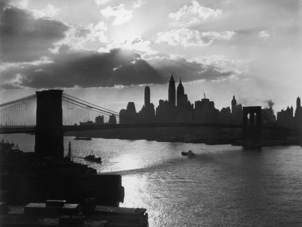 Urban Skyline「New York Silhouette」:写真・画像(10)[壁紙.com]