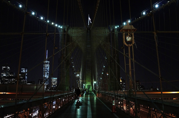 Tourism「Police Presence Increased On Brooklyn Bridge After Recent Security Breaches」:写真・画像(5)[壁紙.com]