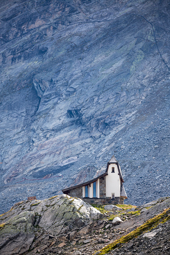 Solden「Austria, Soelden, church at Oeztal Glacier Road」:スマホ壁紙(18)