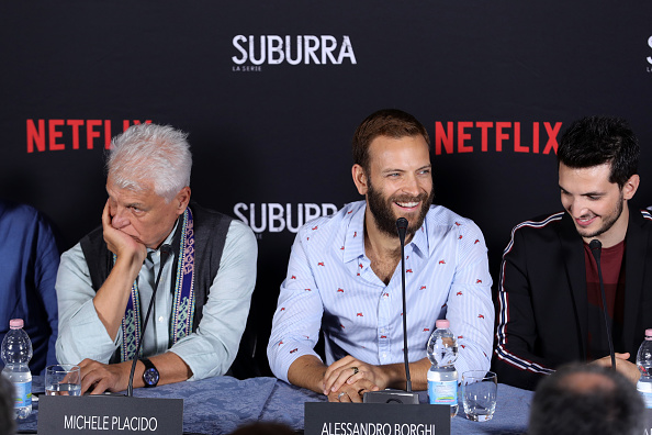 Three People「Suburra The Series Press Conference - 74th Venice Film Festival」:写真・画像(4)[壁紙.com]