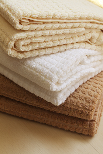Health Spa「Stack of towels」:スマホ壁紙(14)