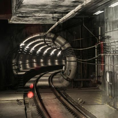 Passenger Train「emtpy tunnel for subway」:スマホ壁紙(3)