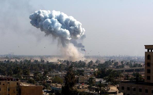 Exploding「Powerful Explosions Rock Baghdad」:写真・画像(5)[壁紙.com]