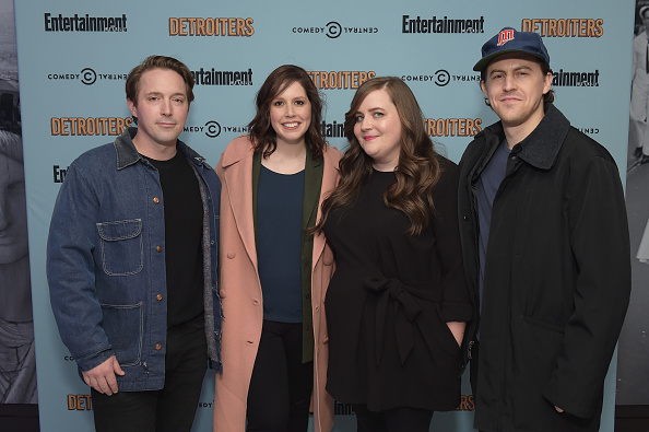 """Aidy Bryant「Comedy Central & Entertainment Weekly Host An Exclusive Screening Of """"Detroiters"""" Starring Sam Richardson And Tim Robinson At Time Inc. Studios In NYC」:写真・画像(19)[壁紙.com]"""