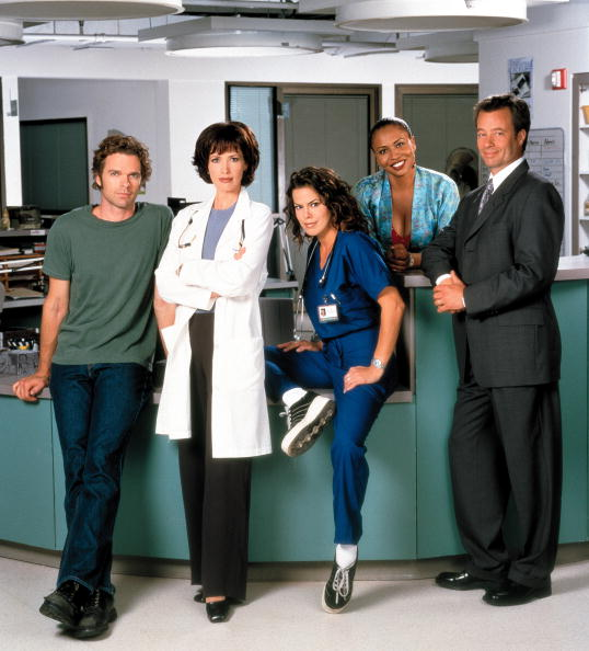 Stowe - Vermont「Cast Members Of The Lifetime Television Drama Series Strong Medicine From (Left To Righ」:写真・画像(9)[壁紙.com]