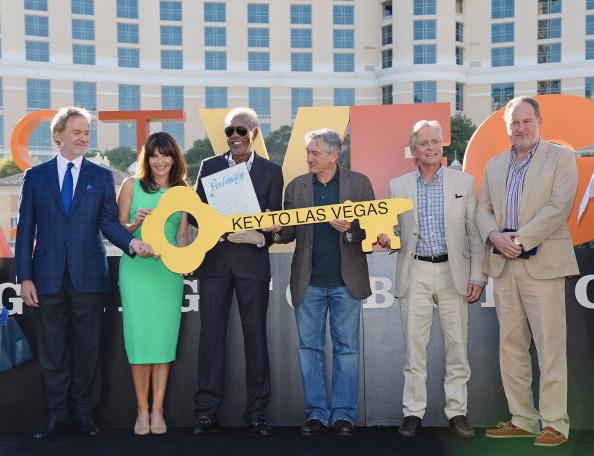"CBS Films「""Last Vegas"" Cast Receives Key To Las Vegas At The Bellagio」:写真・画像(3)[壁紙.com]"