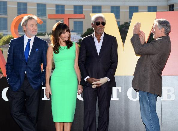 "CBS Films「""Last Vegas"" Cast Receives Key To Las Vegas At The Bellagio」:写真・画像(4)[壁紙.com]"