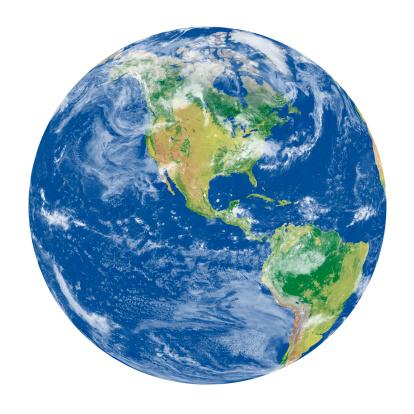 Planet Earth「Earth Model: USA View」:スマホ壁紙(0)