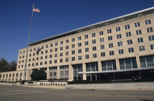 Pole「US State Dept, Harry S. Truman Building, Washington, DC, USA」:スマホ壁紙(7)