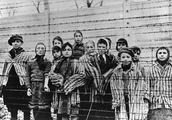 Concentration Camp「Survivor Children In The Concentration Camp Auschwitz-Birkenau After The Liberation. 1945. Poland. Photograph. February 1945.」:写真・画像(9)[壁紙.com]