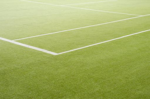 テニス「エッジの芝地のテニスフィールド」:スマホ壁紙(0)