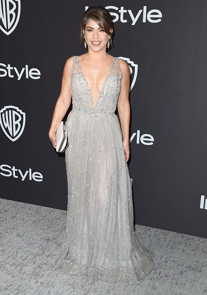 Plunging Neckline「InStyle And Warner Bros. Golden Globes After Party 2019 - Arrivals」:写真・画像(7)[壁紙.com]