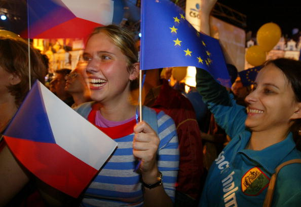European Union「Czech Celebrate Membership in the European Union」:写真・画像(19)[壁紙.com]