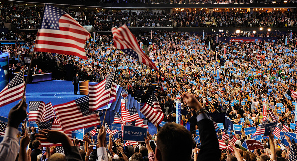 Democratic National Convention「Obama Accepts Nomination On Final Day Of Democratic National Convention」:写真・画像(9)[壁紙.com]
