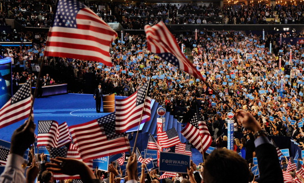 Conference - Event「Obama Accepts Nomination On Final Day Of Democratic National Convention」:写真・画像(1)[壁紙.com]