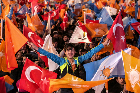 Political Party「Turkey Holds A Snap General Election Amid Tight Security」:写真・画像(7)[壁紙.com]