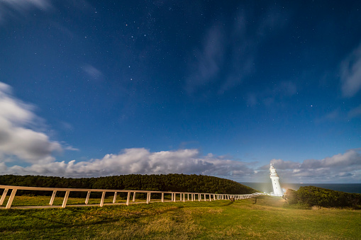 Multiple Exposure「A starry sky over Cape Otway Lighthouse, Victoria, Australia.」:スマホ壁紙(10)