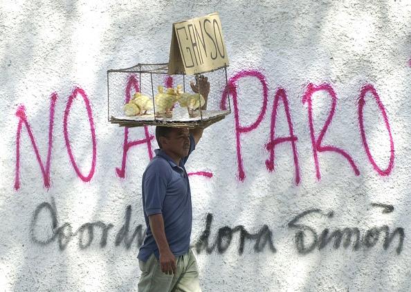 Graffiti「President Chavez Faces Second Day OF General Strike」:写真・画像(14)[壁紙.com]