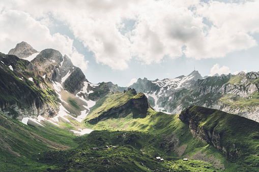 Nature Reserve「Scenic view of mountains in Switzerland」:スマホ壁紙(11)