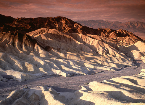 Sepia Toned「Scenic view of Desert Hills of Death Valley」:スマホ壁紙(14)